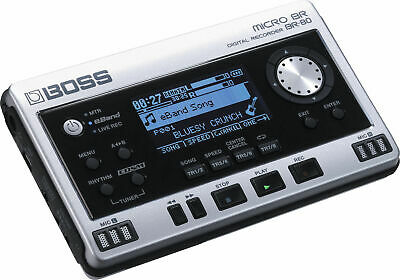 Boss Micro BR-80 Digital Recorder (4GB + SD) - Multi-Track with Effects & eBand
