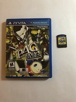 Persona 4: The Golden (Sony PlayStation Vita, 2012) In Box TESTED