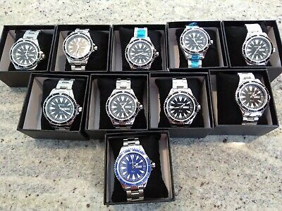 (Lot of 10) Norsk Watch (Rio medal winners) Diver - Citizen Mvt -