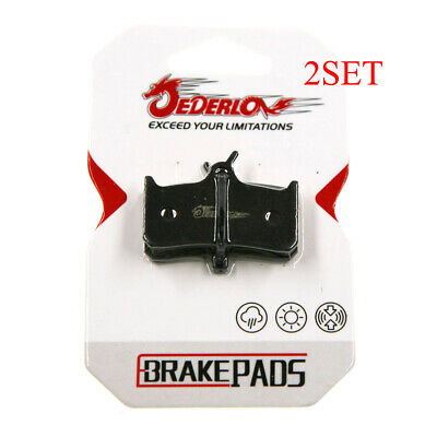 4 x DISC BRAKE PADS SUIT FOR SHIMANO DEORE XT BR M755 HOPE MONO M4 SRAM BIKE