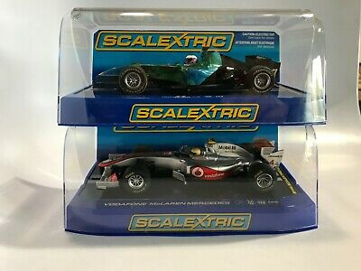 SCALEXTRIC TWO CAR Formula One Set  C2817 Honda and C3266 McLaren Mercedes