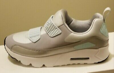 NIKE AIR MAX TINY 90 (PS) Pure Platinum Wolf Grey Girls Size