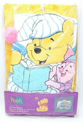 Winnie The Pooh Home Soft Wall Hanging Piglet Pooh Pillow Room Decor Nursery NEW