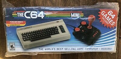 The C64 Mini Console (64x Games Included) - New