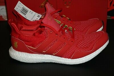 db15b9d88fbf6 ADIDAS ULTRA BOOST Size 9.5 Eddie Huang Chinese New Year Brand New ...