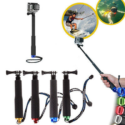Waterproof Monopod Tripod Selfie Stick Pole Handheld For Gopro Hero 12343 Camera