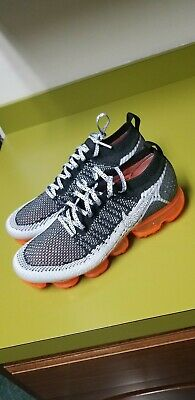 9f1b30aa346c82 Mens Nike Air VaporMax Flyknit 2 Safari. Black Total Orange 942842-106 size  8.5