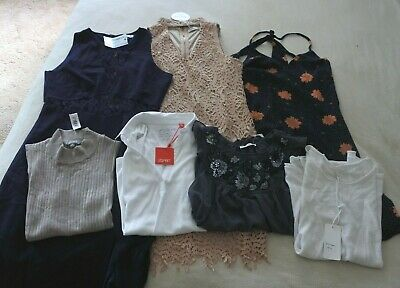 Ladies Bulk Lot x 7 Items all NWT SZ M 12 Miracle Little Lies Valley Girl Esprit