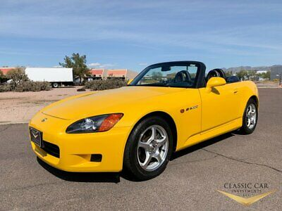 2001 Honda S2000 Roadster 2001 Honda S2000 Roadster - 1 Owner - Only 15K Miles - Showroom New - MINT Car!