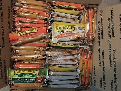 180 Nature Valley granola bars *Oats & Honey *Peanut Butter Biscuit *S&S Peanut