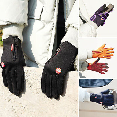Winter Outdoor Sports Windstopper Gloves Waterproof Thermal Cycling Gloves Fast