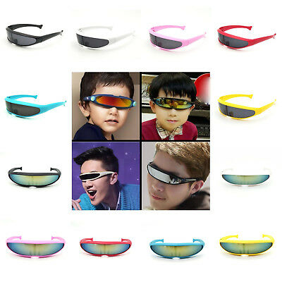 One Len Outdoor Outer Space Robot Conjoined Mercury Lens Cyclops Sunglasses Fast