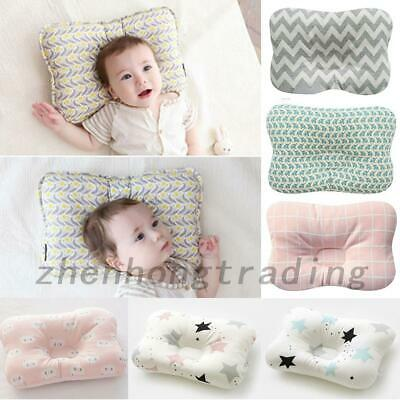 Cotton Newborn Baby's Infant Pillow Positioner Prevent Flat Head Anti Roll