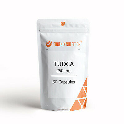 TUDCA 250mg x 60 Capsules - On Cycle Support Tauroursodeoxycholic Acid
