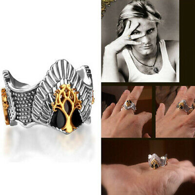 Lord Of The Rings Inspired Hobbit Arwen Evenstar Aragorn Crown Ring