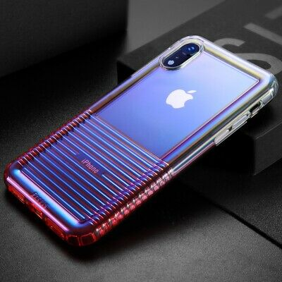 BASEUS Colorful Airbag Protection TPU Phone Case Shell for iPhone XR 6.1 inch