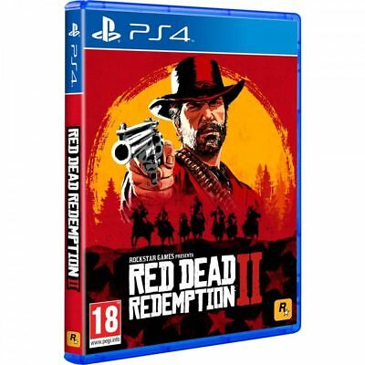 Red Dead Redemption 2 Ps4 Físico Playstation 4 Rockstar Games **nuevo** Rdr2