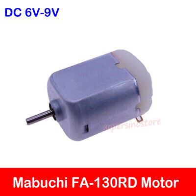 DC3V 5V 6V 9V High Speed Mabuchi 15*20mm Micro Mini 130 Motor DIY Toy Car Module