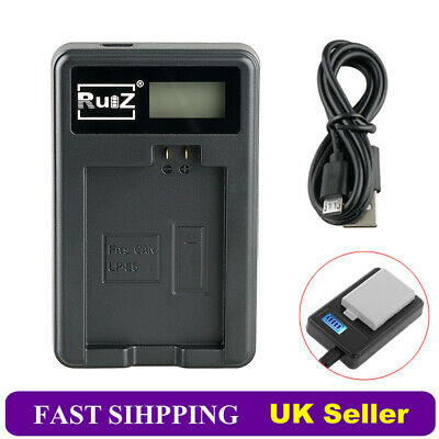 Camera Battery Charger for Canon LP-E5 EOS 450D 500D 1000D KISS F X2 X3 Rebel XS