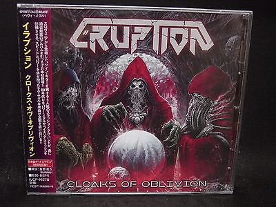 ERUPTION Cloaks Of Oblivion + 3 JAPAN CD Crossbreed Dawn Patrol Slovenia Thrash