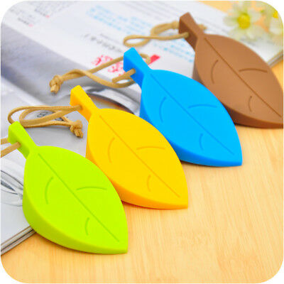 Silicone Leaves Decor Design Door Stop Stopper Jammer Guard Baby Safety Home XM