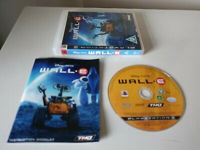 DISNEY, PIXAR: WALL-E. PS3 Game. Complete. (PlayStation 3, PAL)