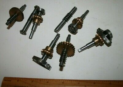 Mixed / lucky dip set of worm gears - model engineer