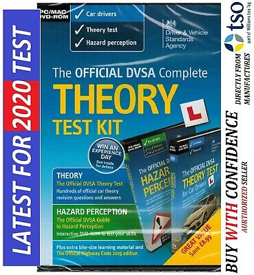 Latest Official DVSA Theory Test Kit 2019 Edition for Car Drivers*Kit