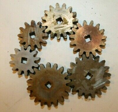 Set of gears - model making, model engineering