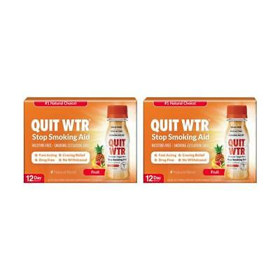 Stop Smoking Remedy to Help Quit Smoking   Quit Water Shots, Works Fast(24 Pack)