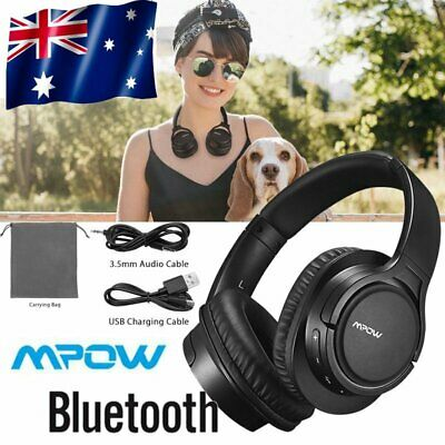 Mpow H7 Bluetooth Headphones Over Ear  Wireless & Wired  Stereo Headset with Mic