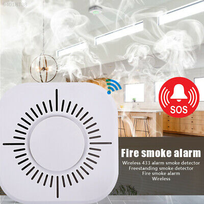CCBC Universal High Sensitive Voice Warning Home Security Smoke Alarm Detector