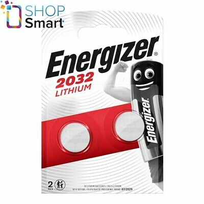 2 Energizer Cr2032 Lithium Batteries 3V Coin Cell Dl2032 Exp 2025 New