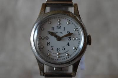 SMITHS Wrist Watch for the blind British vintage antique analog used