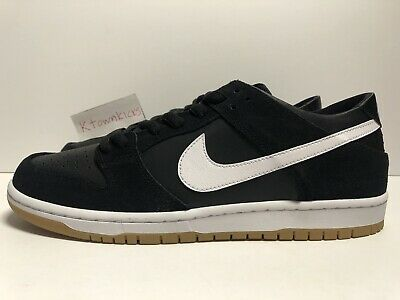 new arrival 262fe f8a46 Nike SB Zoom Dunk Low Pro Black Gum Sole 854866 019 Mens Size 10.5 No Box