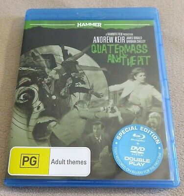 Quatermass and the Pit (1967) Blu-ray + DVD [REGION B/4 READ FULL DESCRIPTION!]