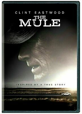 The Mule (DVD, 2018) (DVD, 2019) NEW PRE-SALE SHIPS ON 04/02/19 FREE SHIP USA
