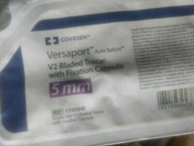 covidien VERSAPORT V2 5MM Ref 179094F  EXP FINISH