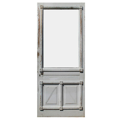 "Charming 34"" old Eastlake Door, Late 19th Century, NED917"