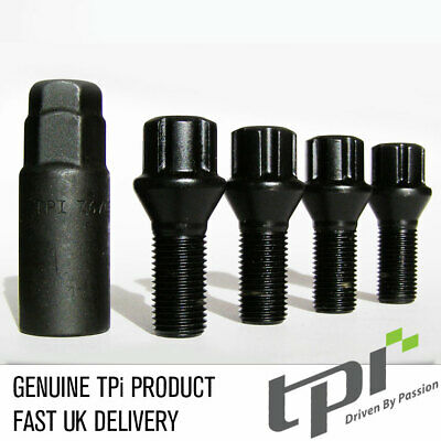 TPI Black Eco Locks M14x1.25 - 28mm