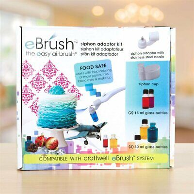 New Craftwell eBrush Siphon Adaptor Kit - Compatible with eBrush System