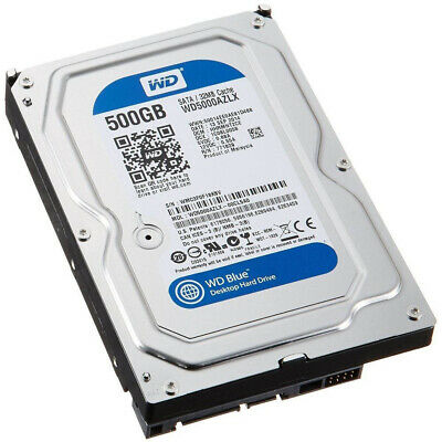 Hard Disk 3,5 Hdd 500 Gb 250 Gb Hd Sata 7200Rpm Testato 100% Per Pc Dvr Harddisk