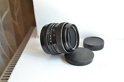 MC Pancolar 50mm f1.8 M42 Carl Zeiss Jena DDR lens S/N 9992789, with 2 caps!