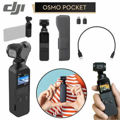 🎁📱📸 DJI Osmo Pocket Handheld 3 Axis Gimbal Stabilizern for iPhone Android 💥