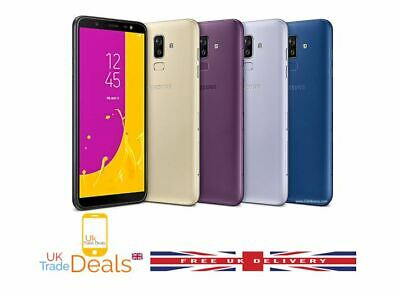 Brand New Samsung Galaxy J8 2018 Unlocked 32GB & 64GB Dual SIM LTE 4G 3 Colours