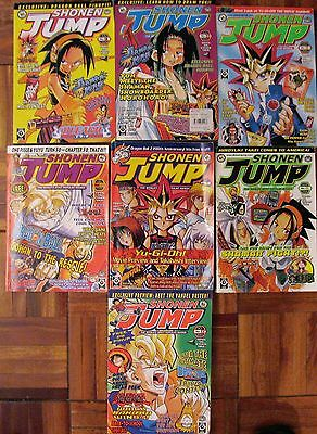 Shonen Jump 7 Magazine Lot Anime