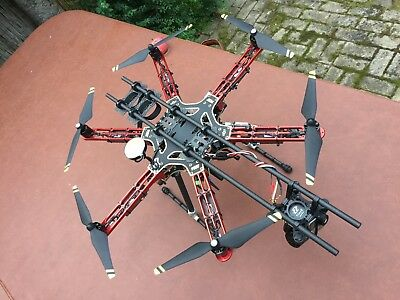 Hexacopter 550mm Naza-M V2 E310 Datalink / GIMBAL AND GOPRO NOT INCLUDED!!!