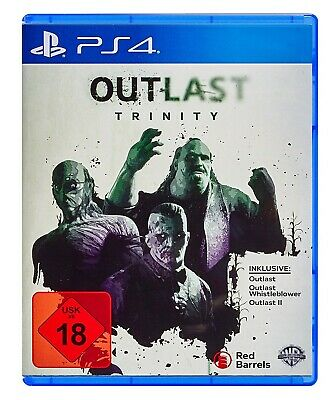 Outlast Trinity PlayStation 4 Standard 2-Disc / Neu