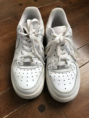 d6b218fca8 YOUTH (GS) NIKE Air Force 1 Low White/White 314192-117 Size 6Y ...
