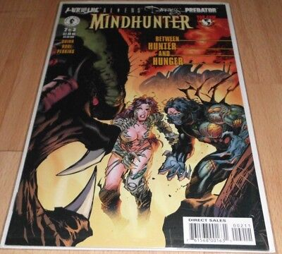 Witchblade Aliens Darkness Predator Mindhunter (2000) #2B.Dec 2000 by Dark Horse